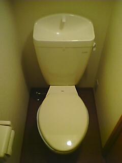 レオパレスのトイレ